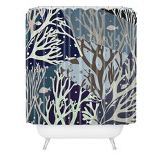 Belle13 The Ocean Shower Curtain | DENY Designs Home Accessories