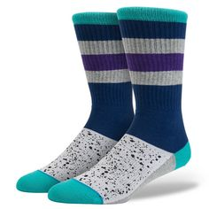 Stance | Aqua | Men's Socks | Official Stance.com
