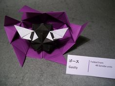 Výsledek obrázku pro origami bulbasaur