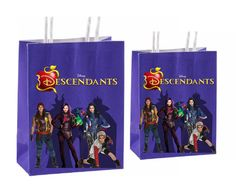 Only a few leftDisney Descendants Party Favor by GoldMimeDesigns