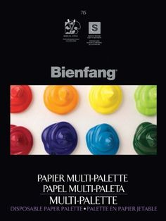 Speedball Bienfang 715 MultiPalette Disposable Palette, 12x16, 50 sheet pad