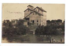 1909 Cedar Rapids Nebraska Water Mill RPPC Real Photo Postcard   eBay