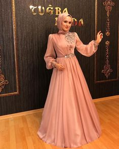 Hijab Evening Dress, Hijab Dress Party, Hijab Wedding Dresses, Evening Dresses, Dress Wedding, Dress Prom, Dresses Elegant, Most Beautiful Dresses, 15 Dresses
