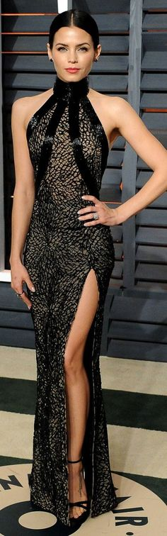 I want this dress ASAP... Jenna Dewan-Tatum in Zuhair Murad Couture ~ 2015 Vanity Fair Oscar Party jαɢlαdy