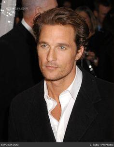 Matthew McConaughey....I'm so HOT for him!!  Phew!