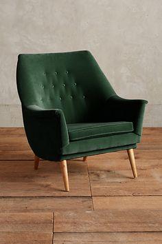Velvet Rivona Chair #anthropologie