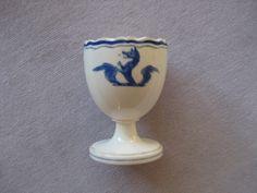 Wedgwood  creamware  egg cup  Circa   1780