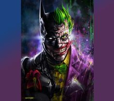 be/LNQBkkDClfg Aside from its graphic quality and storytelling, the thing that impressed me the most in Batman A. BATMAN v JOKER (Arkham Knight Style) +video Joker Arkham Knight, Le Joker Batman, The Joker, Joker Art, Batman Art, Joker And Harley Quinn, Spiderman, Batman Painting, Joker Dark Knight