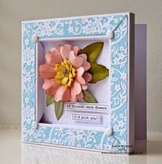 Craftwork Cards Blog: Frame Box Card Tutorial by Emma Williams