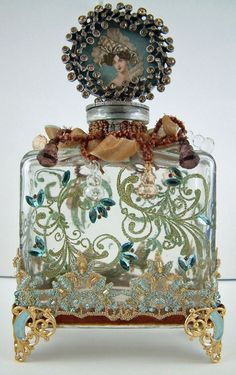 perfume bottle from 19th century