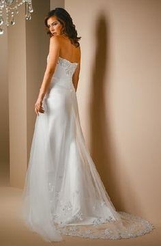sparkling wedding dress