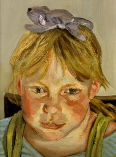 """""""Alice and Okie"""": Lucian Freud - brilliant use of light"""
