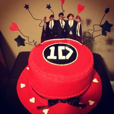 1 Direction cake I want!!!! (But that's Crazy!!!! XD) Planning this exact cake for my 13th birthday but in purple!