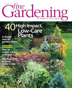 Exceptionnel Fine Gardening Magazine