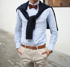 Preppy in the spring.