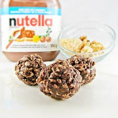 Cook book of trial and error: Crunchy Nutella Bites
