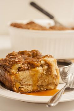 Baked Pear and Ginger Overnight French Toast Casserole [Now Stir It Up]