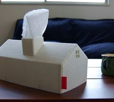 House Tissue Box Cover – $60