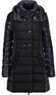 add8f000f363 Duvetica Callipatira Quilted Paneled Shell And Twill Hooded Down Coat  Strandtøj