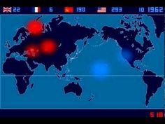 Bombas Nucleares Detonadas 1945-1998 (Isao Hashimoto)