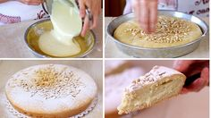 TORTA DELLA NONNA FATTA IN CASA RICETTA FACILE - Homemade Grandma's Cake...