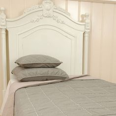 Clayre & Eef Bedsprei Taupe 260x260 cm.