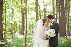Morton Arboretum Wedding: Emily + JT » Chicago Wedding Photographer | Ashley Biess Photography