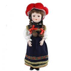 Schwarzwald Porzellan Puppe mit Bollenhut  Hersteller: ( Kein Hersteller )  Gewicht: 0.30 Kilogramm  Preis: €19,50 (inkl. 19 % MwSt.)  Preis: €16.39 (Tax Free)