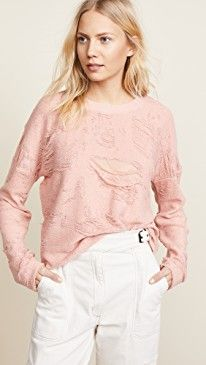 New IRO.JEANS Cenix Distressed Sweatshirt online. Find great deals on One Teaspoon Clothing from top store. Sku dqed56720msrb51969