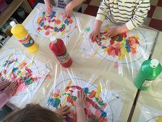 Mixed – Ilknur Cigdem Demirel – ich folge - New Site Toddler Art, Toddler Crafts, Easter Crafts For Kids, Diy For Kids, Toddler Activities, Preschool Activities, Diy And Crafts, Arts And Crafts, Easter Art