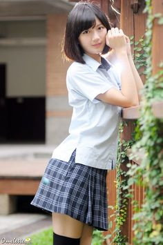 R's media content and analytics Cute School Uniforms, School Uniform Girls, Girls Uniforms, High School Girls, School Girl Japan, School Girl Outfit, Girl Outfits, Cute Asian Girls, Beautiful Asian Girls