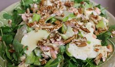 Smoked Trout, Apple and Celery Salad : Dinner Dash with Hilary Biller : The Home Channel Smoked Mackerel, Smoked Trout, Celery Salad, Dinner Salads, Serving Platters, Seafood, Channel, Cooking Recipes, Yummy Food