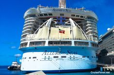 With cruise lines building larger cruise ships every year, the list of the top 10 largest cruise ships in the world is constantly changing.  In the past 12 months, two new ships have joined the list.  Out of the top 10 largest cruise ships, all 10 are from Royal Caribbean and Norwegian Cruise Line…