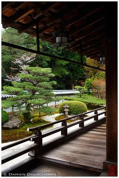 """Saiho-ji is a Rinzai Zen Buddhist temple located in Matsuo, Nishikyo Ward, Kyoto, Japan. The temple, which is famed for its moss garden, is commonly referred to as """"Koke-dera"""" , meaning """"moss temple"""", while the formal name is """"Koinzan Saiho-ji"""". Ironically, the moss for which the temple is known was not part of Muso Soseki's original design. According to French historian François Berthier, the garden's """"islands"""" were """"carpeted with white sand"""" in the fourteenth century. The moss came much…"""