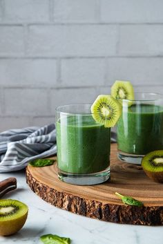 Popeye's Spinach And Spirulina Smoothie (vegan, gluten-free, low sugar, protein packed)   Will Cook For Friends