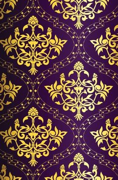 Gold purple wallpaper