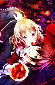 Yui X Ayato Manga Couple Anime Love Diabolik Lovers Sakamaki
