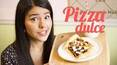 Como hacer pizza dulce