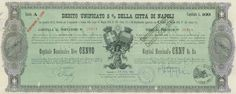 DEBITO UNIFICATO 5% DELLA CITTA' DI NAPOLI - #scripomarket #scriposigns #scripofilia #scripophily #finanza #finance #collezionismo #collectibles #arte #art #scripoart #scripoarte #borsa #stock #azioni #bonds #obbligazioni