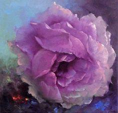 "amazing detail by Gary Jenkins ""Sheer Elegance Gary Jenkins, China Painting, Art Abstrait, Art Floral, Art Themes, Beautiful Paintings, Art Oil, Painting Inspiration, Flower Art"