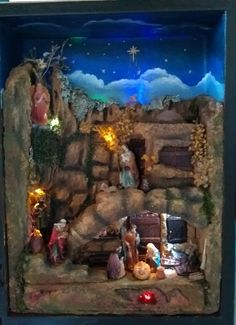 Painting, Art, Births, Nativity Sets, Nativity Scenes, Manualidades, Art Background, Painting Art, Kunst