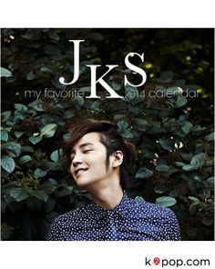 JANG KEUN SUK OFFICIAL GOODS : MY FAVORITE JKS 2014 WALL CALENDAR