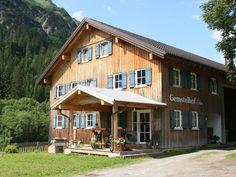 Hoflaada Gemstel #kleinwalsertal #visitvorarlberg Shed, Outdoor Structures, Cabin, House Styles, Home Decor, Decoration Home, Room Decor, Cabins, Cottage