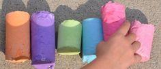 Como hacer gises gigantes.............TUTORIAL.