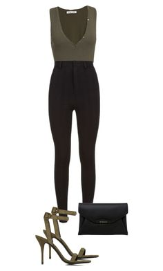 Untitled #576 by nicole-matos on Polyvore featuring polyvore, fashion, style, Givenchy, Torn by Ronny Kobo, Alexander Wang and clothing
