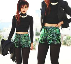 (how to style choker) BACK TO THE FUTURE (by Bernadette F) http://lookbook.nu/look/4412697-BACK-TO-THE-FUTURE