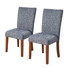 Perfect Best Choice Products Furniture Set Of 2 Tufted Parsons Dining Chair Set  Modern Wood Linen Side Chair   Chairs   Pinterest   Dining Chair Set,  Furniture Sets ...