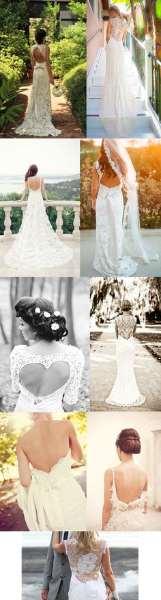 Wedding Trends: The Backless Wedding Dress
