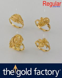 Gold Jewelry Simple, Gold Rings Jewelry, Jewelry Design Earrings, Gold Earrings Designs, Gold Jewellery Design, Jewelery, Gold Finger Rings, Gold Ring Designs, Beautiful Necklaces