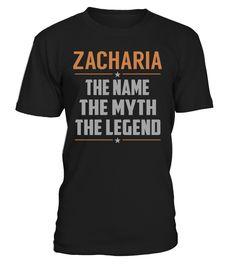 ZACHARIA - The Name - The Myth - The Legend #Zacharia